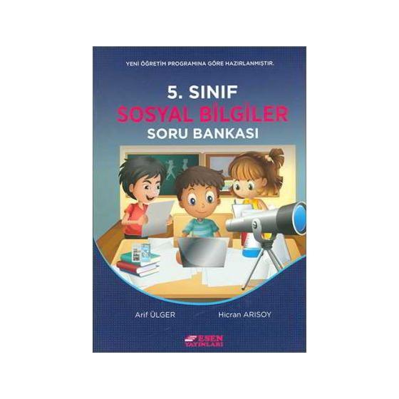 5. Sınıf Sosyal Bilgiler Soru Bankası Esen Yayınları