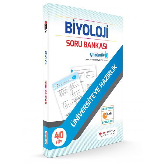 TYT AYT Biyoloji Soru Bankası 40 Föy Farklı Sistem Yayınları
