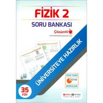AYT Fizik 2 Soru Bankası Farklı Sistem Yayınları
