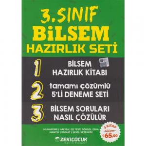 3. Sınıf BİLSEM Hazırlık Seti Zeki Çocuk Yayınları