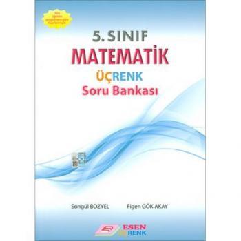 5. Sınıf Matematik Üçrenk Soru Bankası Esen Yayınları