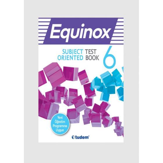 6.Sınıf Equinox Subject Oriented Test Book SORU BANKASI TUDEM YAYINLARI