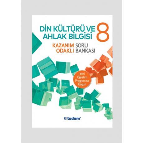 Tudem Yayınları 8. Sınıf Din Kültürü ve Ahlak Bilgisi Kazanım Odaklı Soru Bankası