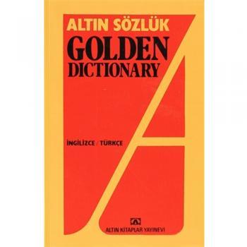 Altın Sözlük Golden Dictionary İngilizce Türkçe Altın Kitaplar
