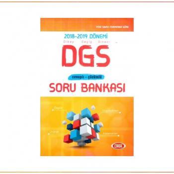 DGS Cevaplı Çözümlü Soru Bankası Data Yayınları