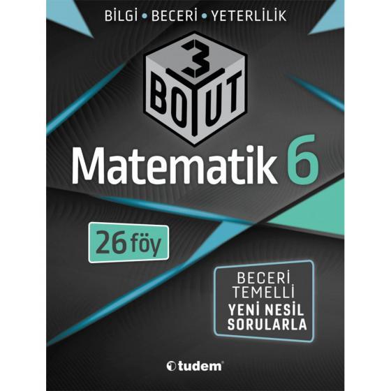 6. Sınıf Matematik 3 Boyut Föy Tudem Yayınları