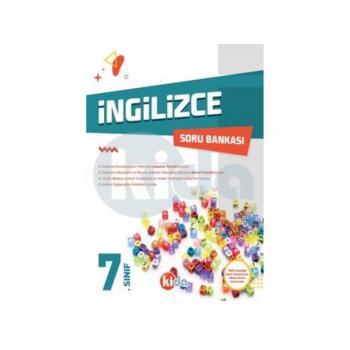 7. Sınıf İngilizce Soru Bankası Kida Yayınları