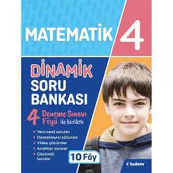 4. Sınıf Matematik Dinamik Soru Bankası Tudem Yayınları