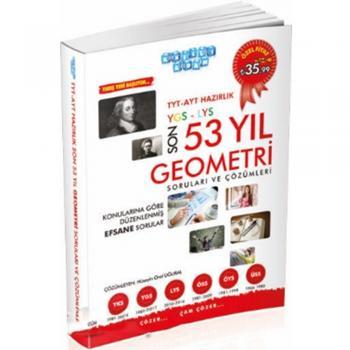 TYT AYT Hazırlık Son 53 Yıl Geometri Çıkmış Sorular ve Çözümleri Akıllı Adam Yayınları
