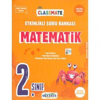 2. Sınıf Classmate Matematik Etkinlikli Soru Bankası Okyanus Yayınları