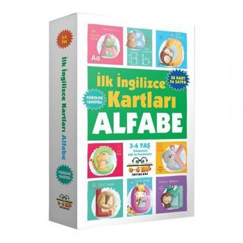 İlk İngilizce Kartları Alfabe 3 6 Yaş 0 6 Yaş Yayınları