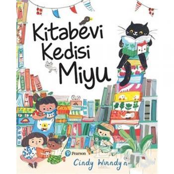 Kitabevi Kedisi Miyupearson çocuk kitapları Cindy Wume