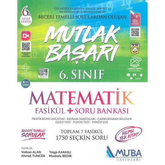 6. Sınıf Matematik Fasikül ve Soru Bankası Muba Yayınları