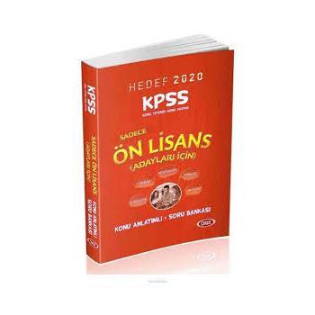 Data 2020 KPSS Sadece Ön Lisans GYGK Konu Anlatımlı Soru Bankası Data Yayınları