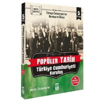 Popüler Tarih Türkiye Cumhuriyeti Kuruluş Seti-5 Kitap Takım