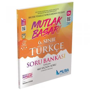 6. Sınıf Mutlak Başarı Türkçe Soru Bankası Muba Yayınları