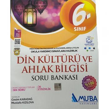 6.Sınıf Din Kültürü ve Ahlak Bilgisi Soru Bankası Muba Yayınları