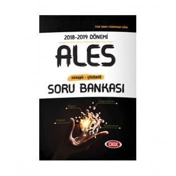 2018 ALES Cevaplı Çözümlü Soru Bankası Data Yayınları