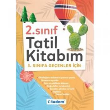 2.Sınıf Tatil Kitabım Tudem Eğitim