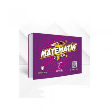AYT Cep Test Matematik Orta Karekök Yayınları
