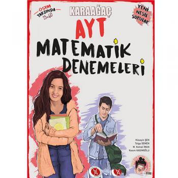 AYT Matematik Denemeleri Video Çözümlü Karaağaç Yayınları