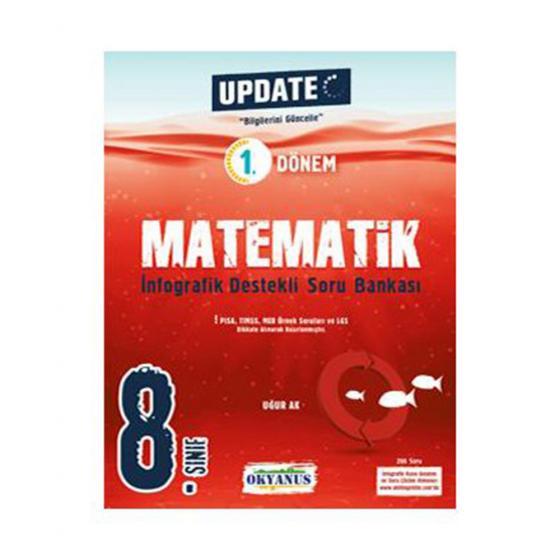 8. Sınıf Update Matematik İnfografik Soru Bankası Okyanus Yayınları