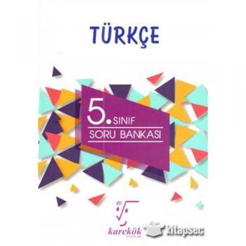 5. Sınıf Türkçe Soru Bankası Karekök Yayınları