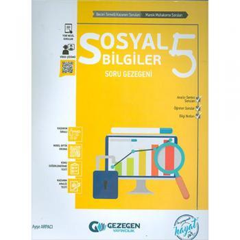 5. Sınıf Sosyal Bilgiler Soru Gezegeni Gezegen Yayıncılık
