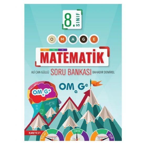 8.Sınıf LGS OMAGE Matematik Soru Bankası Nartest Yayınları