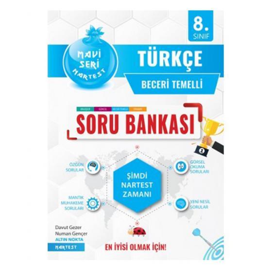 8. Sınıf Türkçe Mavi Soru Bankası Nartest Yayınları