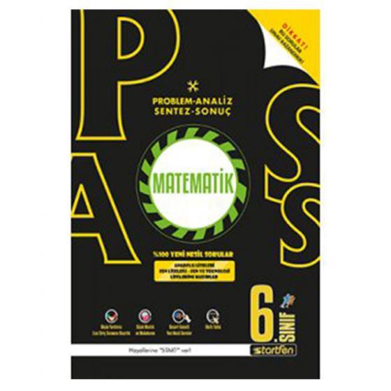 6.Sınıf Pass Matematik Soru Bankası Startfen Yayınları