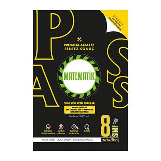 Pass 8.Sınıf Matematik Soru Bankası Startfen yayınları