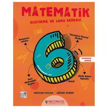 6. Sınıf Matematik Alıştırma ve Soru Bankası Matematus Yayınları