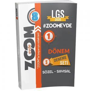 8. Sınıf LGS 1. Dönem Zoomevde 5 li Deneme Seti Günay Yayınları