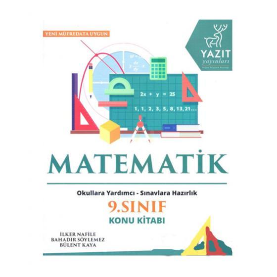 9. Sınıf Matematik Konu Kitabı Yazıt Yayınları * Okullara Hazırlık * Sınavlara Hazırlık