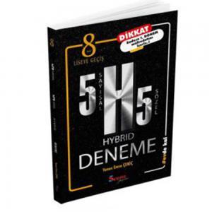 8.Sınıf HYBRID 5 Sözel 5 Sayısal Deneme Seans Yayınları