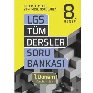 8. Sınıf LGS 1. Dönem Tüm Dersler Soru Bankası Tudem Eğitim