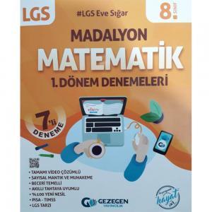 Gezegen 8.Sınıf LGS Madalyon 1.Dönem Matematik 7'li Deneme
