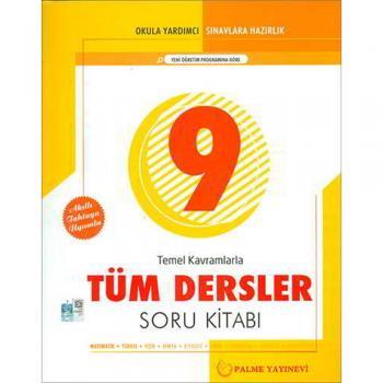 9. Sınıf Temel Kavramlarla Tüm Dersler Soru Kitabı Palme Yayınevi YENİ