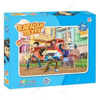 Adeland Trt Rafadan Tayfa 260 Parça Kutulu Puzzle