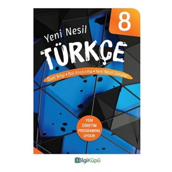 8. Sınıf Yeni Nesil Türkçe Özet Bilgi Yeni Nesil Sorular Bilgi Küpü