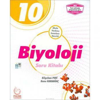 10. Sınıf Biyoloji Soru Kitabı Palme Yayıncılık YENİ
