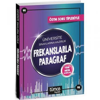 ÖSYM Frekanslarla Paragraf Tümce Yayınları Üniversite Sınavlarına Hazırlık