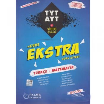 PALME TYT AYT Türkçe Matematik Evde Ekstra Soru Kitabı YENİ