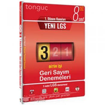 Tonguç 8. Sınıf LGS 1. Dönem Konuları Geri Sayım Denemeleri