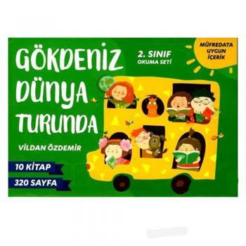 Gökdeniz Dünya Turunda (10 Kitap) Vildan Özdemir Mavi Kirpi Yayınları