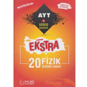 Palme Yayınları AYT Fizik Evde Ekstra 20 Deneme YENİ