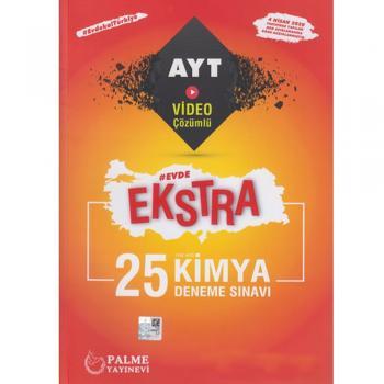 Palme Yayınları AYT Kimya Evde Ekstra 25 Deneme YENİ