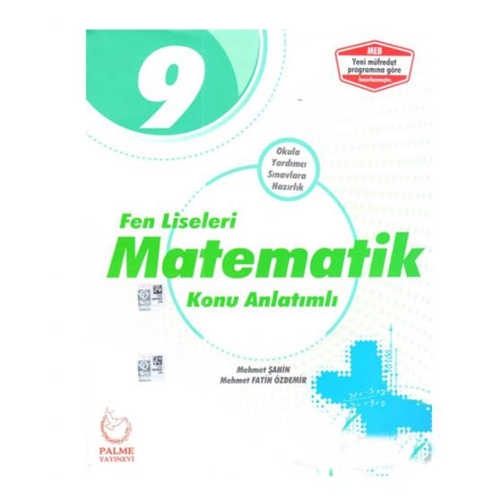 Palme 9. Sınıf Matematik Konu Anlatımlı Fen Liseleri İçin YENİ