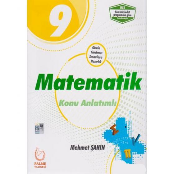 Palme Yayınları 9. Sınıf Matematik Konu Anlatımlı Soru Bankası YENİ